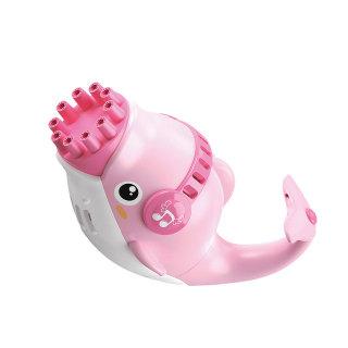 Mookis Trẻ em mới Máy làm bong bóng ma thuật Dolphin Tự động tạo bọt xà phòng Súng cung cấp đồ cưới Quà tặng sinh nhật Đồ chơi bơi lội mùa hè thumbnail