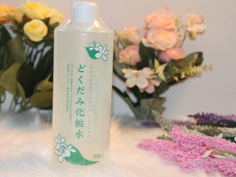 Nước hoa hồng diếp cá Dokudami