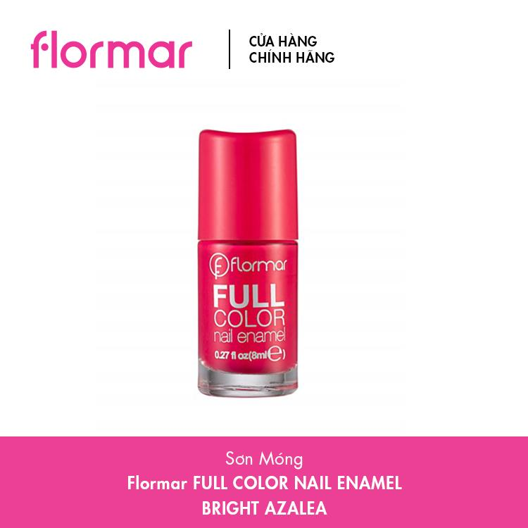 Sơn Móng Tay Flormar Full Color Nail Enamel - Nhiều Màu – 8ml tốt nhất