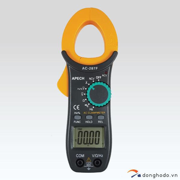 Ampe kìm đo AC APECH AC-287F (600A, Made in Taiwan)