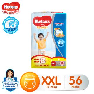 [Tặng thêm 8 miếng mỗi gói] Tã quần HUGGIES DRY PANTS SUPER JUMBO M74- L68-XL62-XXL56 thumbnail