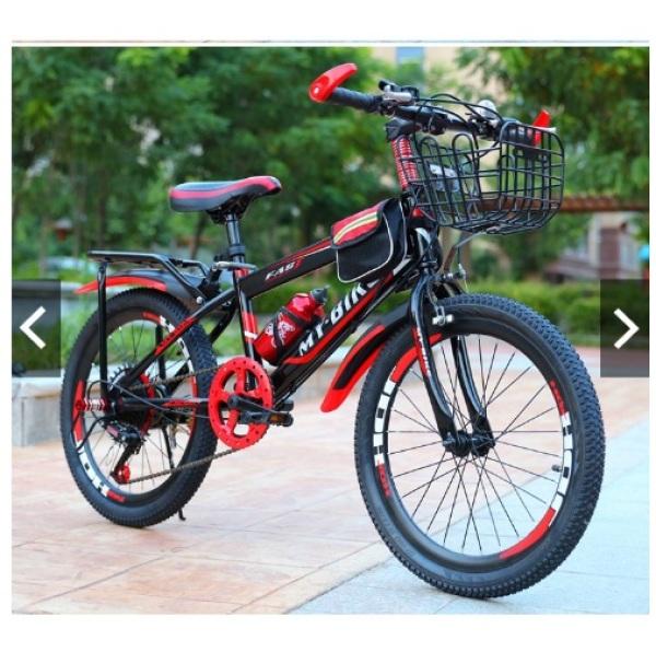 Mua Xe đạp thể thao địa hình bánh 24 cho bé 10-15 tuổi có baga + giỏ đồ