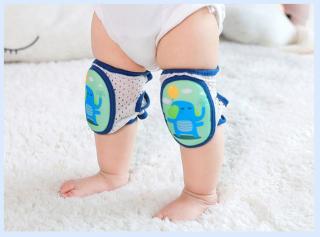 Vớ bảo vệ đầu gối chống trơn trượt an toàn cho bé tập bò tập đi