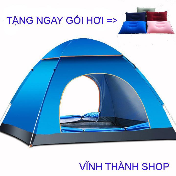 [ Tặng ngay gối hơi ] Lều cắm trại Lều tự bung kích cỡ 2m*2m