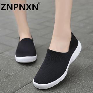 ZNPNXN Giày Lười Đế Bằng Hàn Quốc Cho Thể Thao Cho Nữ Giải Trí Không Độc Giày Đế Bệt Giày Lười