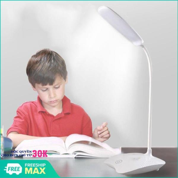 Đèn học làm việc chống cận thị bảo vệ mắt 20 LED (Màu ngẫu nhiên) - ĐÈN BÀN SIÊU SÁNG - ĐÈN BÀN SẠC ĐIỆN tích hợp 4 in 1 - 3 CHẾ ĐỘ ÁNH SÁNG TRẮNG