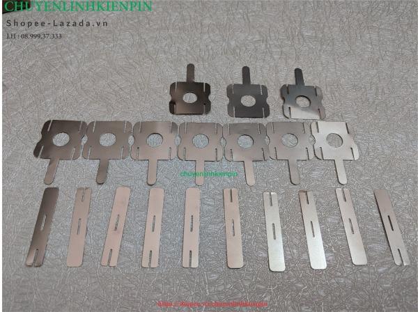 Bảng giá 10 miếng kẽm Vuông 0.18mm hàn cell pin loại tốt ( BL64 12) Phong Vũ