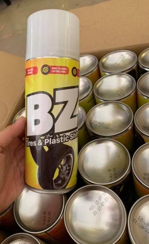 Giá Quá Tốt Để Có BZ Xịt Bóng Phục Hồi Nhựa Nhám