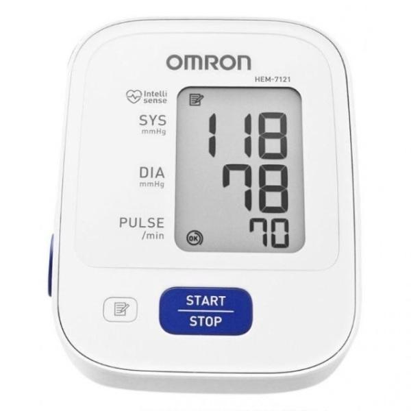 Máy đo huyết áp bắp tay Omron HEM-7121 cao cấp