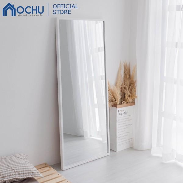 Gương Đứng Soi Toàn Thân Khung Gỗ OCHU - Mirror L - White