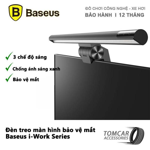 Bảng giá Đèn màn hình baseus bảo vệ mắt Baseus i-Work Series, đèn treo màn hình có ba chế độ sáng và tăng giảm cường độ cảm ứng (3 Light Mode, USB Stepless Dimming Screen Hanging Light, New Model) Phong Vũ