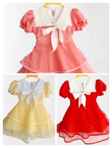 Giá bán Đầm váy cánh tiên cho bé 6-19kg | đầm tết cho bé gái | đầm váy công chúa | chất liệu vải xốp mền mát