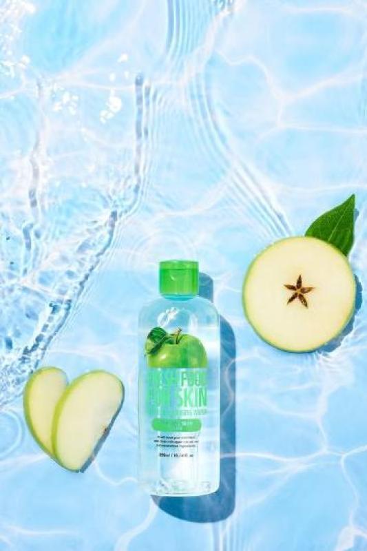 Nước Tẩy Trang Farm Skin Fresh Food Apple Cho Da Dầu 300ml cao cấp