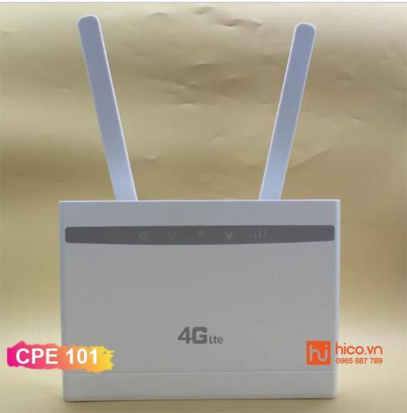 Bảng giá Bộ Phát Wifi 3G/4G LTE – 4G – CPE-101 – 300Mbps – Trắng- 3 Cổng LAN. Phong Vũ