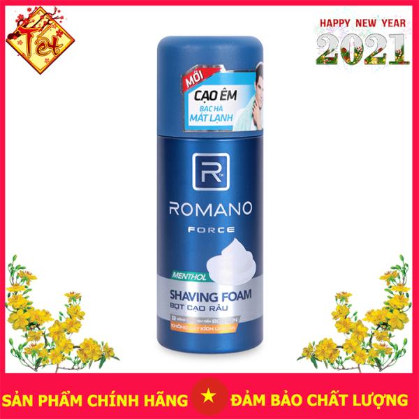 Kem Bọt Cạo Râu Romano Force 175Ml Làm Mềm Da Nhanh Chóng giá rẻ
