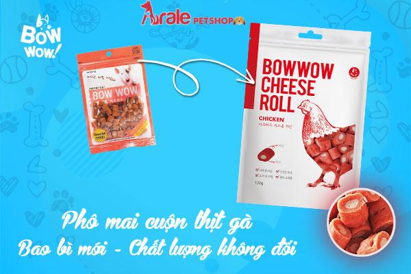 SNACK PHÔ MAI GÀ BOWBOW-ARALEPETSHOP