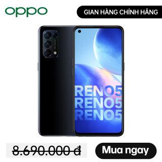 Điện Thoại OPPO Reno5 2020 (8GB/128GB) - OPPO Chính Hãng - Miễn phí vận chuyển - Trả góp 0%