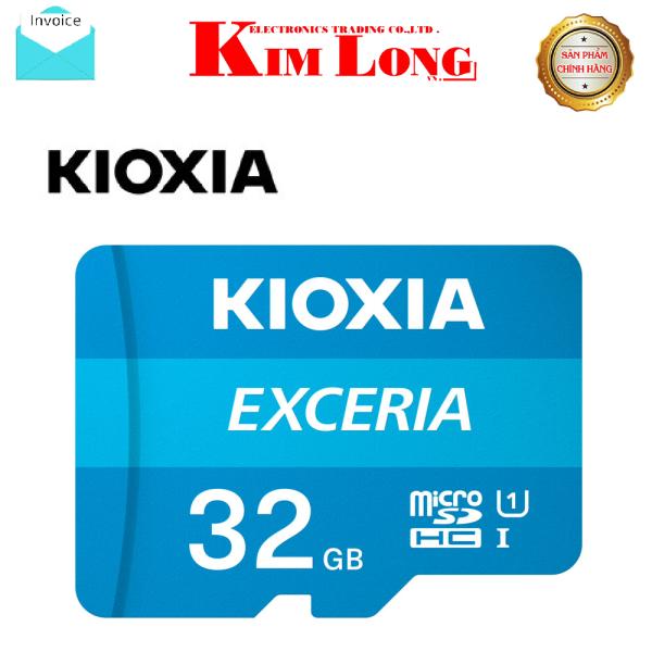 Thẻ nhớ Kioxia ( Toshiba ) 32GB Micro SD Class 10 UHS-I 100MB/s - Hàng chính hãng FPT