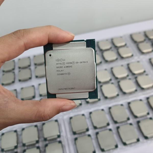 Bảng giá Bộ vi xử lý CPU Xeon E5 2678 V3 12 lõi 24 luồng Socket 2011 Phong Vũ