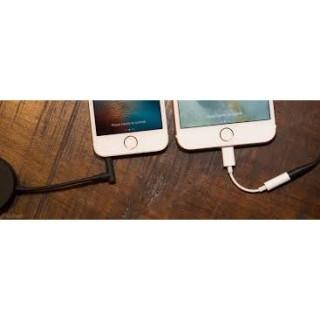 Jack, cáp chuyển tai nghe Lightning Iphone 5678x11 ra chân tròn 3,5mm kết nối Blutooth. thumbnail