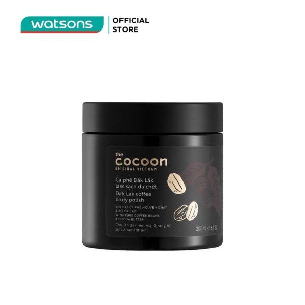 Tẩy Tế Bào Chết Cocoon Dak Lak Coffee Body Polish Từ Cà Phê Đak Lak 200ml giá rẻ