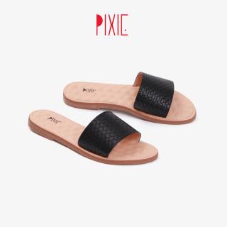 Dép Nữ Bệt Bản Ngang Pixie X703 thumbnail