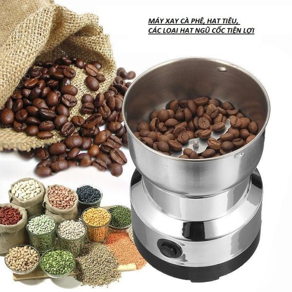 Máy xay cà phê, hạt tiêu inox, máy xay mini đa năng tiện lợi NIMA NM-8300 150W