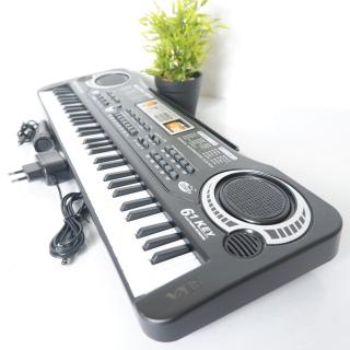 [ Tặng Micro Cao Cấp ] Đàn Piano Điện tử 61 phím cho bé yêu - âm sắc rõ ràng, độ vang tốt, có độ bền cao, dễ dàng sử dụng cho người mới tập thumbnail