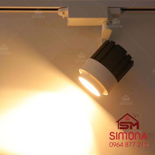 Đèn rọi ray, đèn rọi tranh gắn tường trang trí bể cá, quần áo công suất 20W DR02