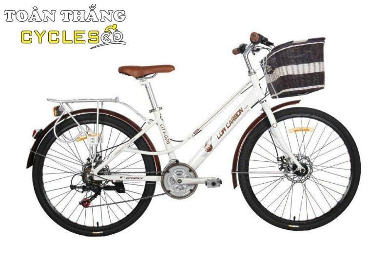 Phân phối Xe đạp thời trang Low City Bikr 026 Trắng