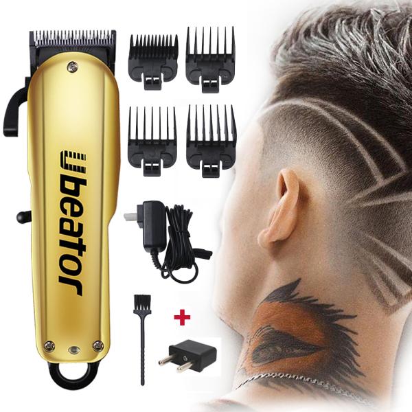 Ubeator Hair Tông đơ có thể sạc lại Hair Clip cắt tóc nam không dây có thể điều chỉnh Lưỡi cắt thép Máy cắt tóc nhập khẩu