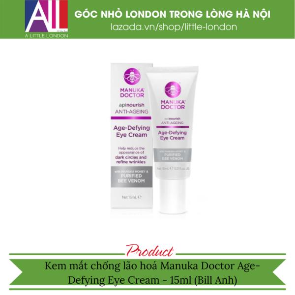 Kem mắt chống lão hoá Manuka Doctor Age-Defying Eye Cream - 15ml (Bill Anh)