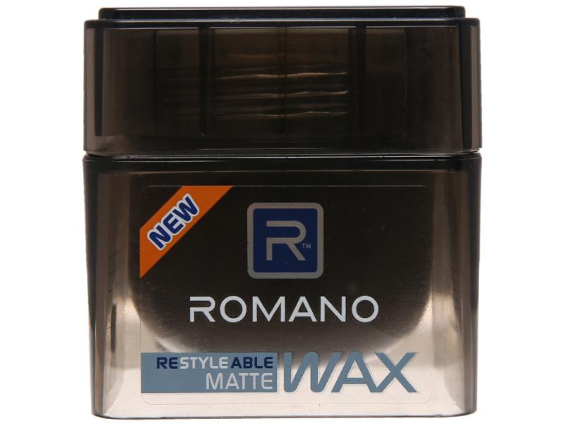 Sáp tạo kiểu tóc Romano Matte giữ nếp tự nhiên 68g giá rẻ