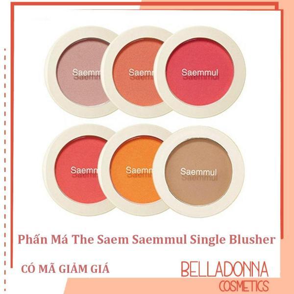 Phấn Má The Saem Saemmul Single Blusher giá rẻ