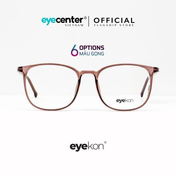 Giá bán Gọng kính cận nữ chính hãng EYEKON C38 lõi thép chống gãy cao cấp nhập khẩu by Eye Center Vietnam