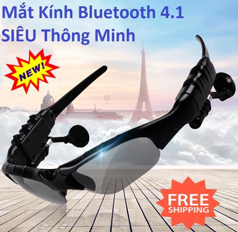 Giá Kính Bluetooth, Tai Nghe, Mắt Kính Bluetooth 4.1 Siêu Thông Minh - Mk4.1, Sành Diệu, Kết Nối Bluetooth, Nghe Nhạc, Chống Bụi, Bảo Vệ Mắt Khỏi Tia Cực Tím, Giá Siêu Hấp Dẫn-Sale 50%.