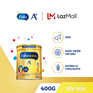 [FREESHIP] Sữa bột Enfamama 360 Brain Plus cho mẹ mang thai và cho con bú - Vị Chocolate - 400g - Cam kết HSD còn ít nhất 10 tháng thumbnail