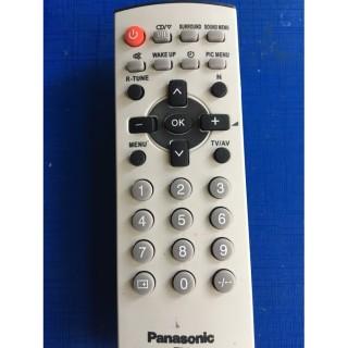 Điều Khiển TiVi panasonic CRT dùng cho các loại tivi Panasnonic đời cũ màn hình dầy - Tặng kèm pin chính hãng Remote Panasonic LCD cổ - Remote panasonic loại tivi cổ dầy cong ngày xưa 6