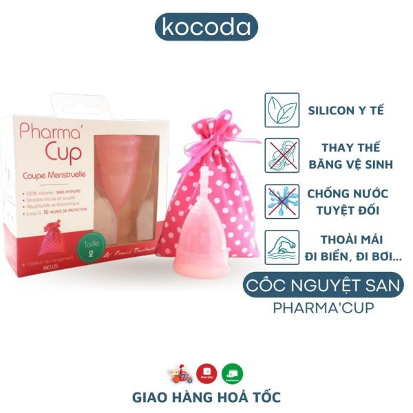 Cốc Nguyệt San Pharma Cup Silicone Y Tế Pháp Siêu Mềm Chính Hãng, Thay Thế Băng Vệ Sinh - KOCODA giá rẻ