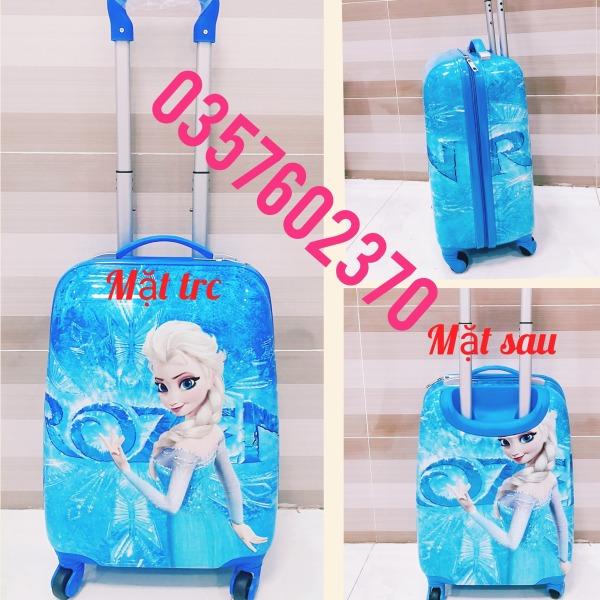 Giá bán (Ảnh Thật) Balo, vali kéo họa tiết nhân vật hoạt hình dành cho bé yêu cực đẹp