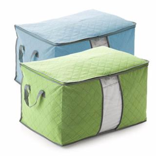 Combo 2 túi đựng chăn màn tiện dụng tủ chứa sắp xếp đồ - hộp chứa đồ - túi vải đựng đồ - túi đựng chăn quần áo cỡ lớn tiện dụng túi quần áo đồ dùng gia đình phụ kiện quần áo thumbnail