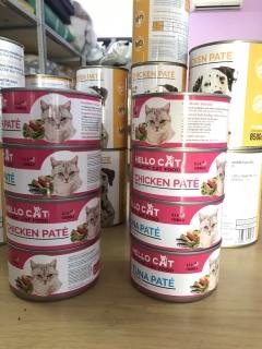 Pa tê tươi cho mèo vị thịt gà cá ngừ Hello cat chicken Tuna, pate cho mèo thumbnail