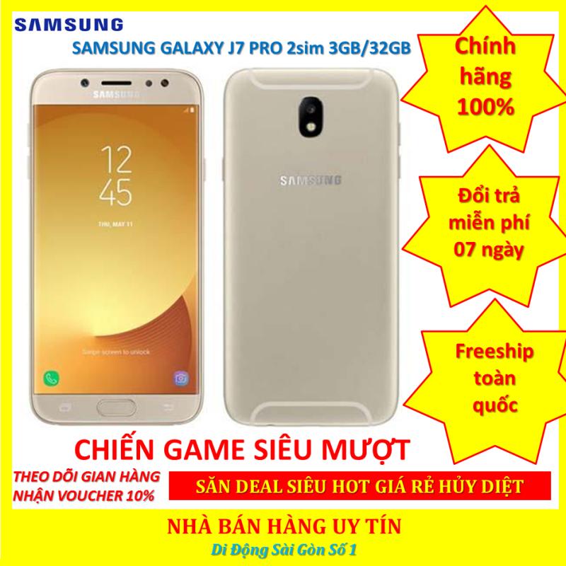 [ SMARTPHONE GIÁ RẺ ] Samsung J7 Pro - Samsung Galaxy J7 Pro 2sim ram 3G Bộ nhớ 32G mới Chính Hãng,Pin trâu