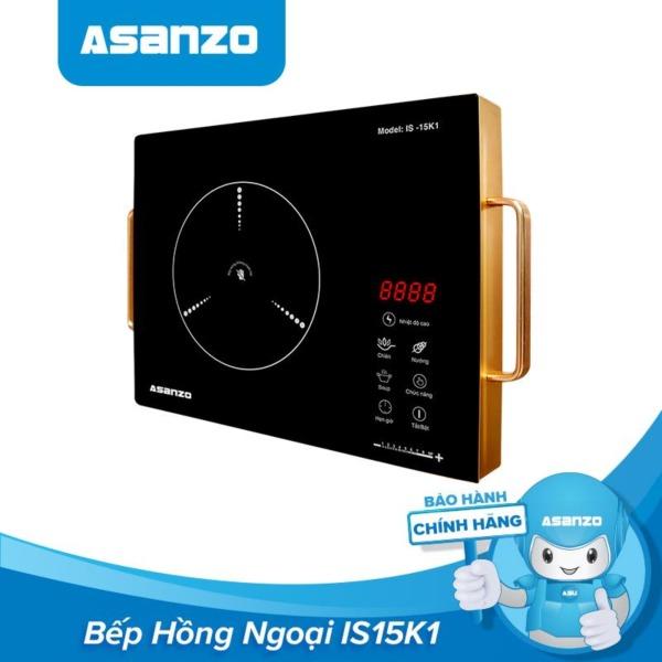 Bảng giá Bếp Hồng Ngoại Cảm Ứng Asanzo IS15K1 (Không Kén Nồi, Kính Cường Lực Chống Trầy, Màn Hình Cảm Ứng, Cách Điện Có Tay Cầm) - Hàng Phân Phối Chính Hãng Bảo Hành 1 Năm Điện máy Pico