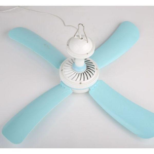 Quạt màn, Quạt trần mini công suất 15W thích hợp khi dùng điều hoà, hoặc dùng cho trẻ nhỏ
