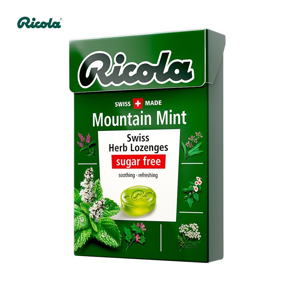 Kẹo thảo mộc bạc hà Ricola Mountaint Mint 40g