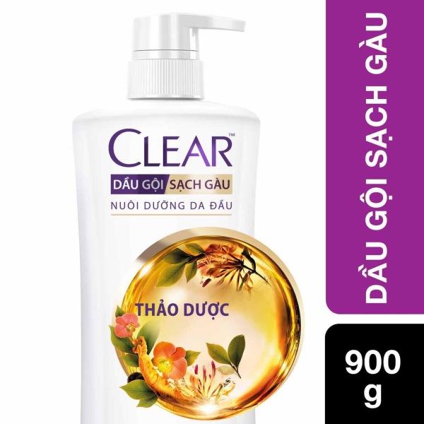 CLEAR Dầu Gội Thảo Dược 900 gram ( 9 loại Thảo Dược ) giá rẻ