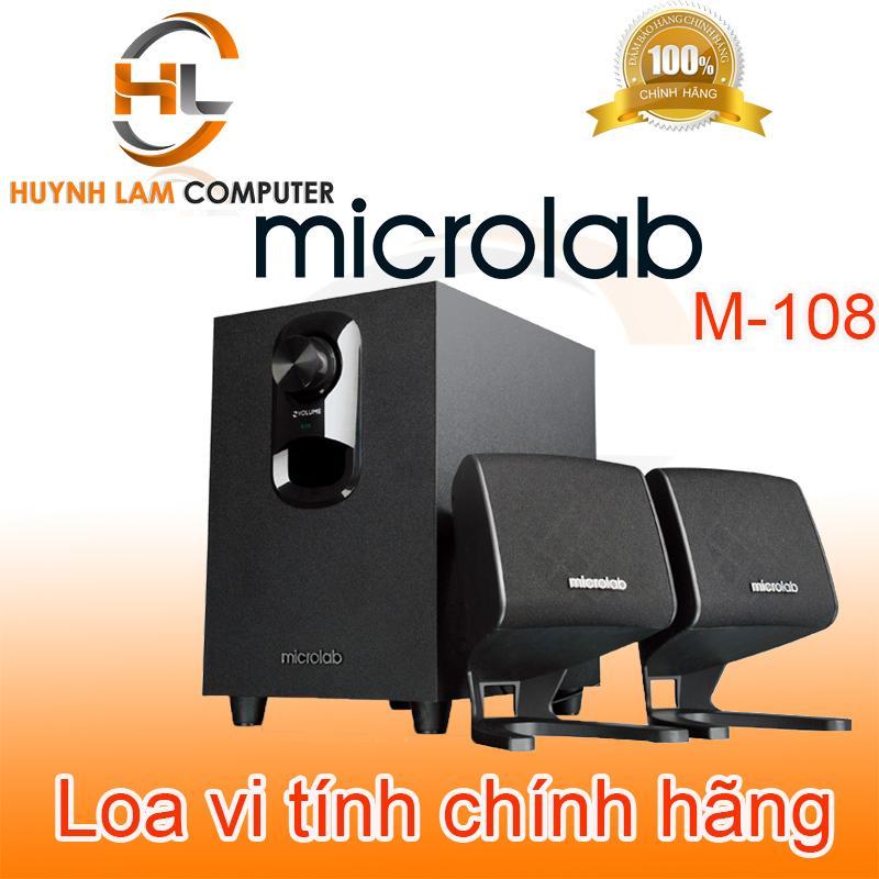 Loa Microlab - Loa vi tính 2.1 Microlab M108 nghe đã như ở bar Trí Viễn phân phối