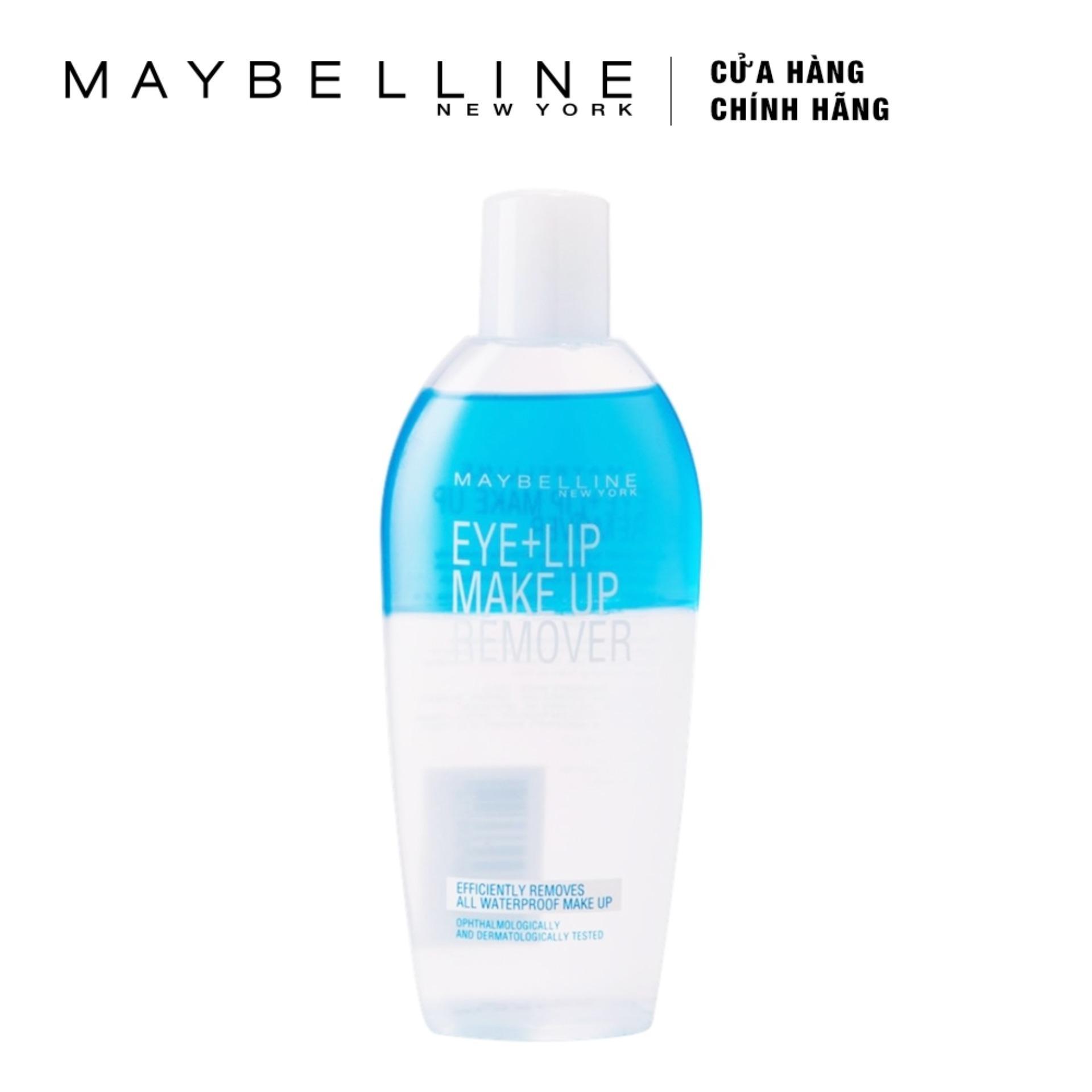 Dung dịch tẩy trang vùng mắt và môi Maybelline New York Makeup Remover 150mlEyeAnd Lip 150ml