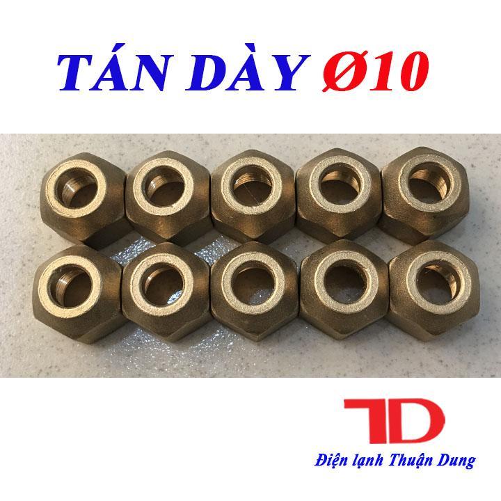 Combo 10 Tán Ống Đồng Phi 10 Loại Dày Tốt